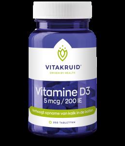 Vitamine D3 - 5 mcg / 200 IE