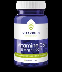 Vitamine D3 - 25 mcg / 1000 IE