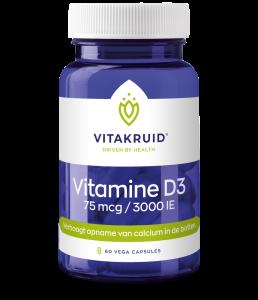 Vitamine D3 - 75 mcg  / 3000 IE